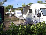 Camping in Cortellazzo nordöstlich von Lido di Jesolo