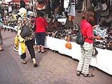 Die Märkte sind typisch itlaienisch mit vielfachen Angeboten