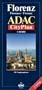 ADAC Karte und Stadtplan Florenz