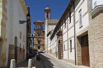 In der Altstadt von Antequera in Andalusien