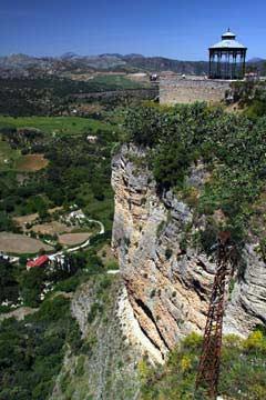 An der Paseo de los Ingleses in Ronda