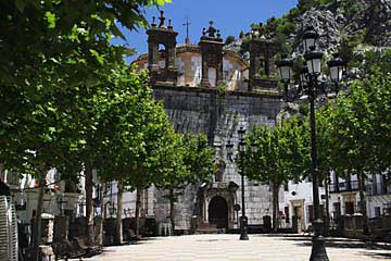 An der Plaza de España in Grazalema