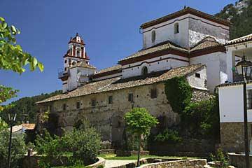 Platz unterhalb der Kirche Iglesia de San José Grazalema