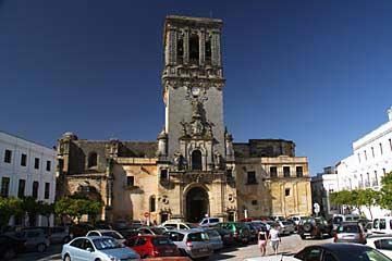Die Basílica de Santa María de la Asunción in Arcos