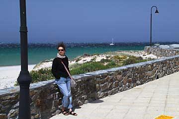 Windige Angelegenheit an der Strandpromenade Tarifa