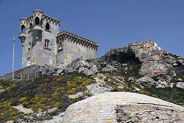 Das Castillo de Santa Catalina in Tarifa