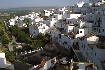 Ausblick auf die weißen Häuser von Vejer de la Frontera