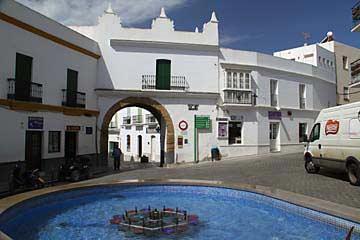 An der Puerta de la Villa von Conil de la Frontera