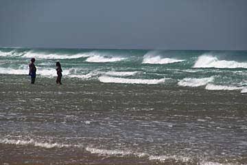 Spazieren am Strand von Conil de la Frontera