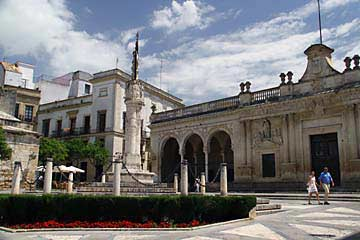 Das alte Rathaus am Plaza de la Asunción in Jerez