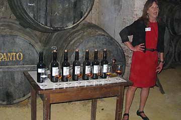 Sherry-Probe bei Tio Pepe in Jerez de la Frontera