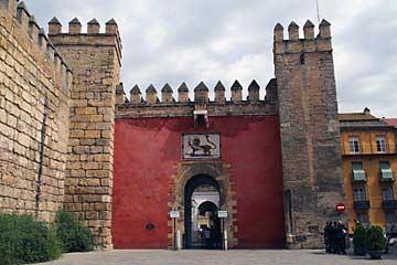 Das Tor des Löwen Puerta del León von Sevilla