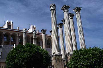 Die Ruinas Romanas in Cordóba