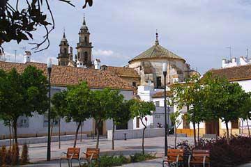 Der Plaza del Poeta Juan Bernier in Cordoba