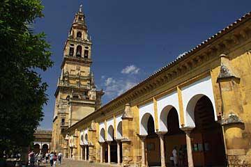 Der Turm der Mezquita in Cordóba