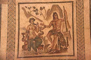 Mosaike aus dem 2. Jahrhundert im Alcazar