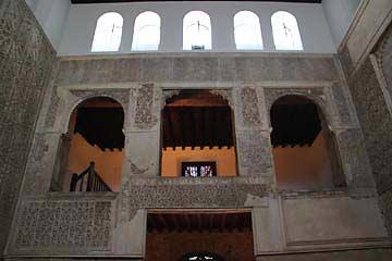 Der Gebetsraum der jüdischen Sinagoga de Córdoba