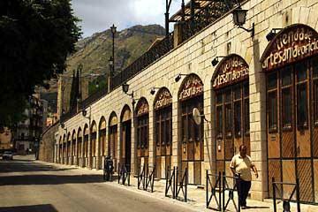 Die Promenade Cantón de Jesús Jaén in Andalusien