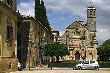 Die Kirche Sacra Capilla del Salvador am Plaza de Vazquez de Molina in Úbeda