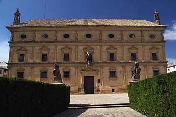 Das Rathaus Ayuntamiento de Úbeda am Plaza de Vázquez de Molina
