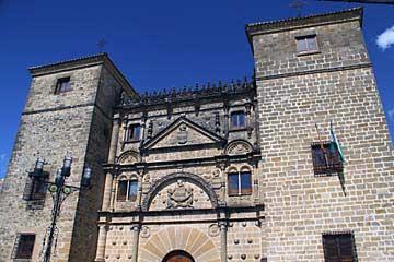 Der Palast Casa de las Torres in Ubeda im Süden von Spanien
