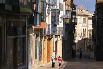 Die Fußgängerzone der Calle Real in Ubeda