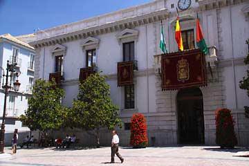 Das Ayuntamiento de Granada am Plaza del Carmen in Granada