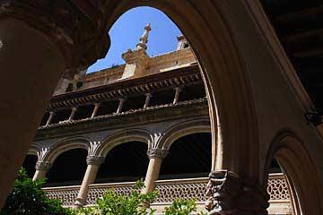 Innenhof des Klosters San Jerónimo in Granada