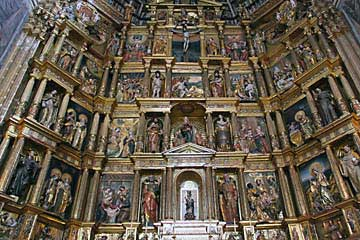 Altarbild des Klosters San Jerónimo in Granada