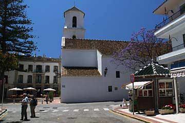 Im Zentrum der Stadt Nerja an der Costa del Sol