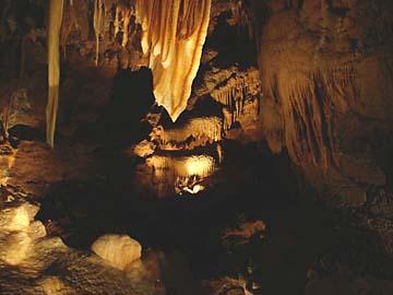 Die Jenolan Caves im Temple of Baal