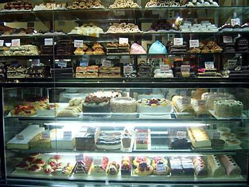 Ein CakeShop im Stadtteil St.Kilda in Melbourne