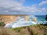 Zwei der Zwölf Apostel an Great Ocean Road in Australien