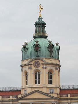 Die Kuppel von Schloß Charlottenburg