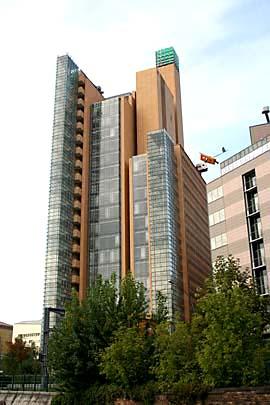 Hochhäuser am Potzdamer Platz