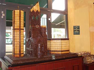 Die Gedächtniskirche aus Schokolade