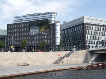 Die neuen Parlaments- und Regierungsbauten