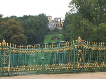 Der Park von Schloss Sanssouci