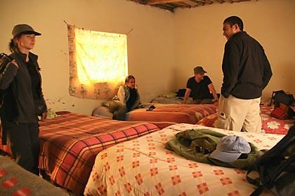 Matrazenlager für eine schlaflose Nacht