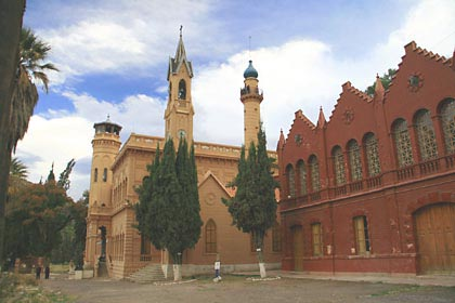 Das Castello de Glorietta bei Sucre in Bolivien