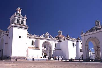 die Basilica von Copacabana, Bolivien