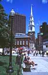 Die Kirche in Downtown Crossing in der Altstadt von Boston