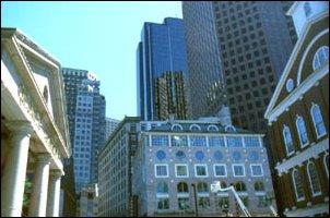 die Innenstadt von Boston