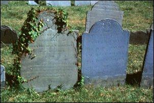 der Friedhof in North End, Boston