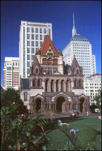 das Trinity Building, Boston, Massachusetts, USA