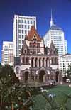 Das Trinity Gebäude in Back Bay Boston
