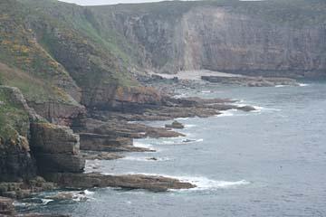 Steilküste am Kap Frehel