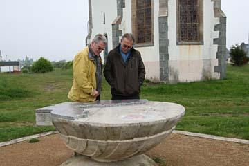 vor der Kapelle bei Binic/Etables-Dur-Mer