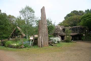Village Gaulois, Gallisches Dorf