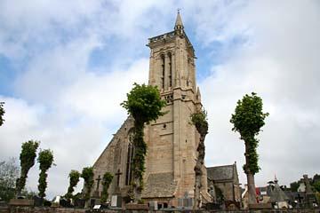 Kirche von St-Jean-du-Doigt